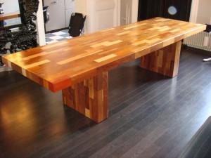 laurentz design tafel diverse soorten hout